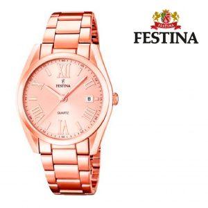 Relógio Festina® Boyfriend Rose Gold | 35MM