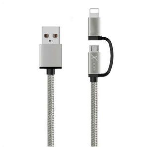 Cabo USB para iPad/iPhone Ref. 101127 | Prata