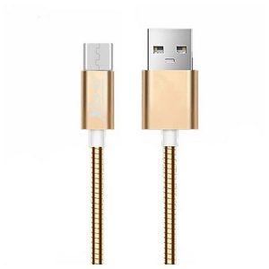 Cabo Micro USB para USB Ref. 101103 | Ouro Rosa
