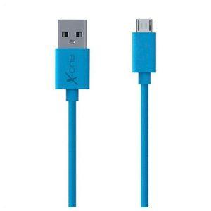 Cabo Micro USB para USB Ref. 101288 | Azul