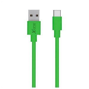 Cabo USB A 2.0 para USB C Ref. 101196 | Verde