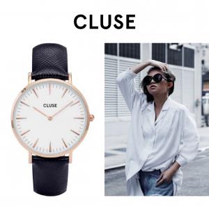 Relógio Cluse® La Bohème Rose Gold White/Blue | 38MM