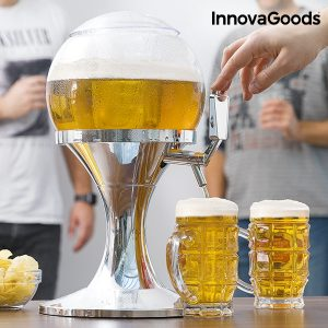 Dispensador de Cerveja Refrigerante Ball InnovaGoods Kitchen Foodies