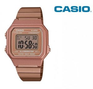 Relógio Casio® B650WC-5A Rose Gold