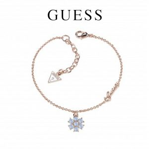 Guess® Pulseira Small Flower Blue