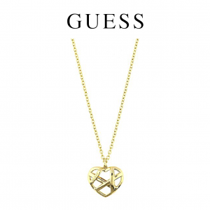 Guess® Colar Heart Gold