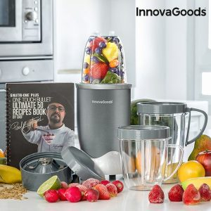 Liquidificadora Com Livro De Receitas Nutri·One Touch InnovaGoods Kitchen Chef