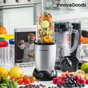 Liquidificadora Com Livro De receitas One Touch InnovaGoods Kitchen Chef