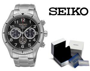 Relógio Seiko® Chronograph Silver