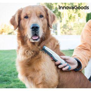 Peine Eléctrico Cortanudos Para Perros InnovaGoods Home Pet