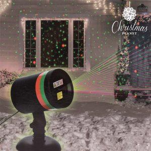 Projetor Laser Natalício Com Sensor Christmas Planet