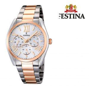Relógio Festina® Dubai Multi-Functional Silver | 42MM