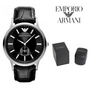 Relógio Emporio Armani® Renato Large Dial Black