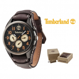 Relógio Timberland® Rollins Black | Brown | 5ATM