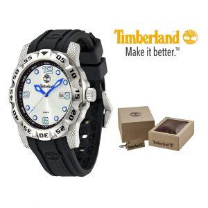 Relógio Timberland® Belknap Grey Pele | 10ATM