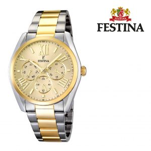 Relógio Festina® Dubai Multi-Functional Gold | 42MM