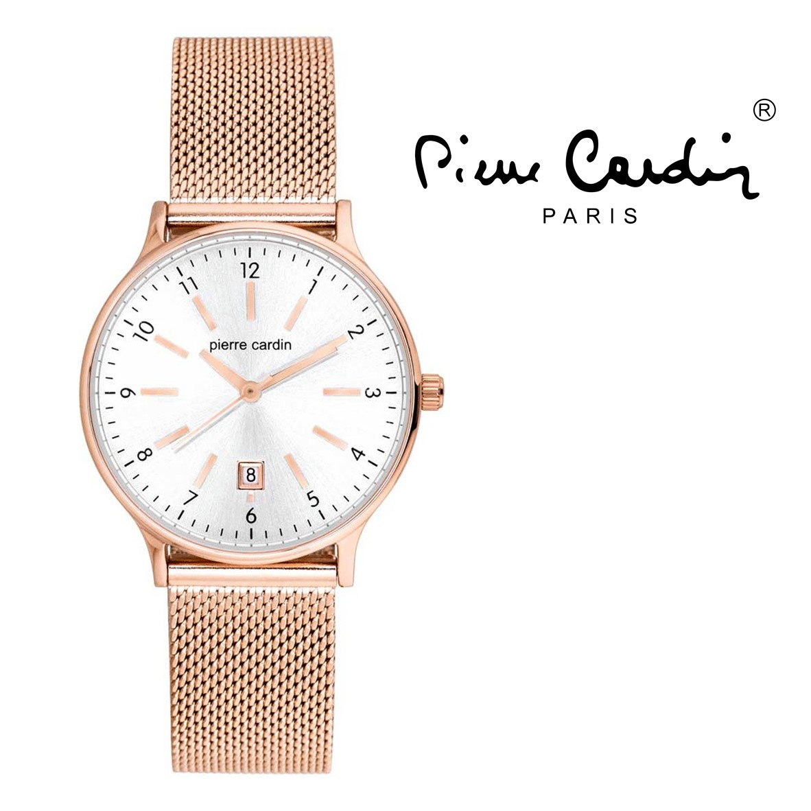 release date: half off available Montre Pierre Cardin® Les Halles Femme Rose Gold | 5ATM