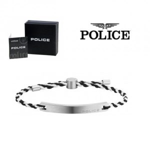 Pulseira Police® Bond Black & White | 18-20cm