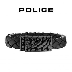 Pulseira Police® Alligator Black | 20cm
