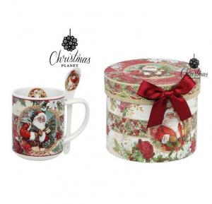 Chávena com Caixa Christmas Planet 4193 Natal | Pai Natal