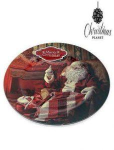 Prato Decorativo Christmas Planet 1154 Natal | Pai Natal