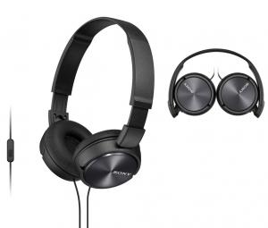 Auriculares de Diadema Sony Preto