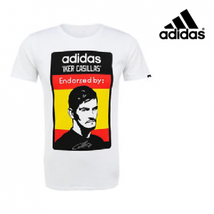 Adidas® T-Shirt Iker Casillas