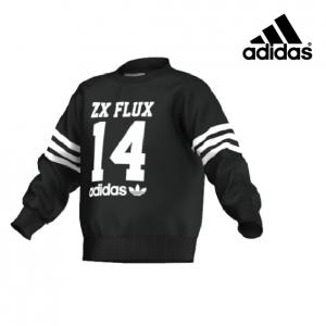 Adidas® Sweatshirt Junior Preta