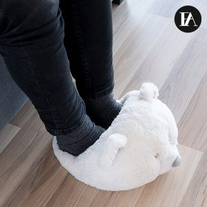 Aquece Pés De Urso Polar Fashinalizer
