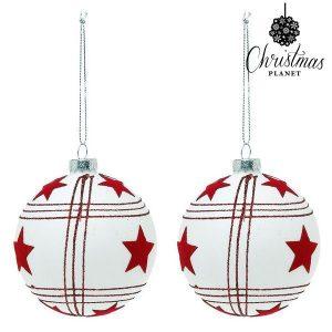 Bolas de Natal Christmas Planet | 8 cm | 2 uds |