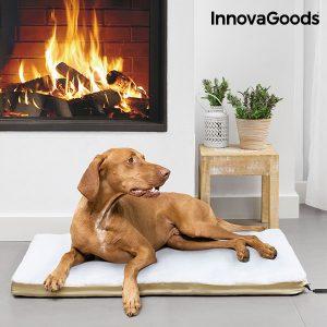 Cama Eléctrica Térmica Para Mascotas Grandes InnovaGoods Home Pet