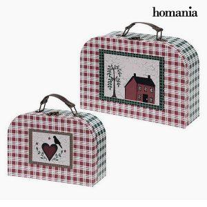 Conjunto de Pastas Homania (2 uds) Papelão