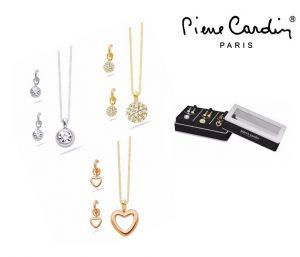 Conjunto Pierre Cardin® Triple Sweet | 3 Colares e 3 Pares Brincos