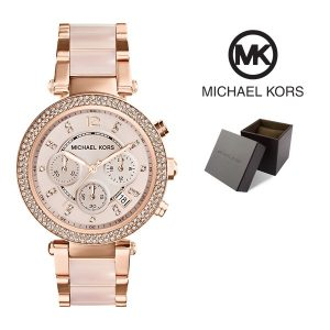 Relógio Michael Kors® Parker Blush and Rose Gold-Tone  | 10ATM