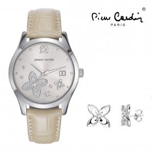 Relógio Pierre Cardin® Ivry Femme Steel Beige
