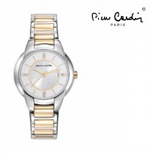 Relógio Pierre Cardin® Pont Marie Femme Dourado e Prateado   3ATM