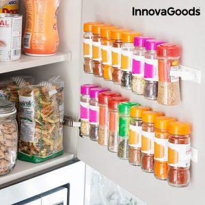 Porta-Condimentos Adesivo e Divisível InnovaGoods Kitchen Foodies