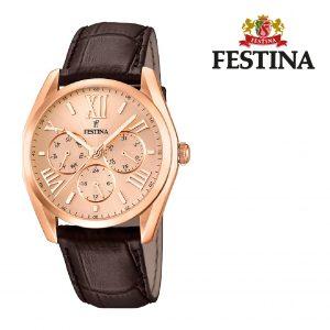 Relógio Festina® Elegance Chonograph Rose Gold | 42MM
