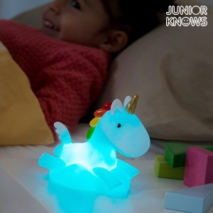 Unicórnio Tira Medos LED Multicolor Junior Knows