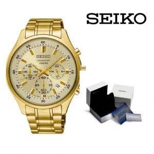 Relógio Seiko® Golden Circle