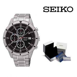 Relógio Seiko® Chrono Black