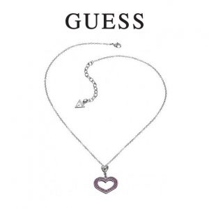 Guess® Colar Heart Pink