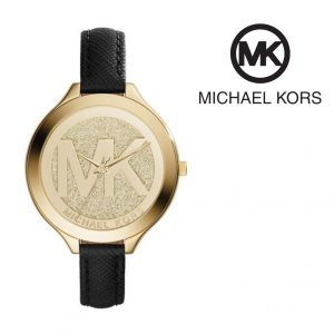 Relógio Michael Kors® Slim Runway Gold Dial | 5ATM