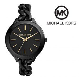Relógio Michael Kors® Black Slim Runway Chain | 5ATM