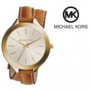 Relógio Michael Kors® Slim Runway Camel | 5ATM