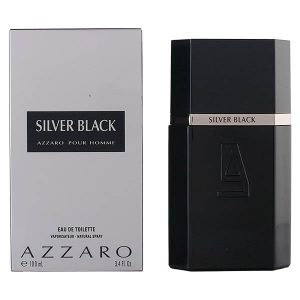 Men's Perfume Silver Black Azzaro EDT 100 ml