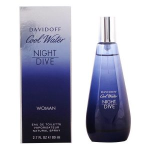 Women's Perfume Cool Water Night Dive Wo Davidoff EDT 50 ml