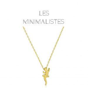 Les Minimalistes® Colar Romane Gold