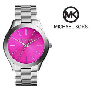Relógio Michael Kors® Runway Rosa Prateado | 3ATM