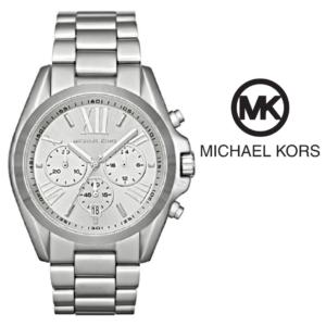 Michael Kors® Bradshaw Chronograph Silver Watch | 10ATM